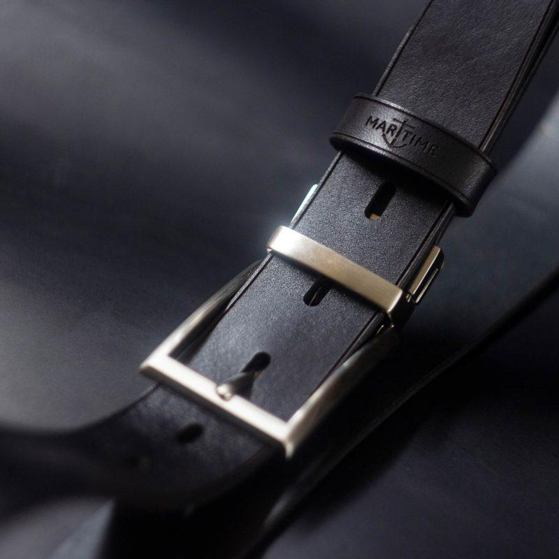 Кожаный-Ремень-Брючный---Чёрный1