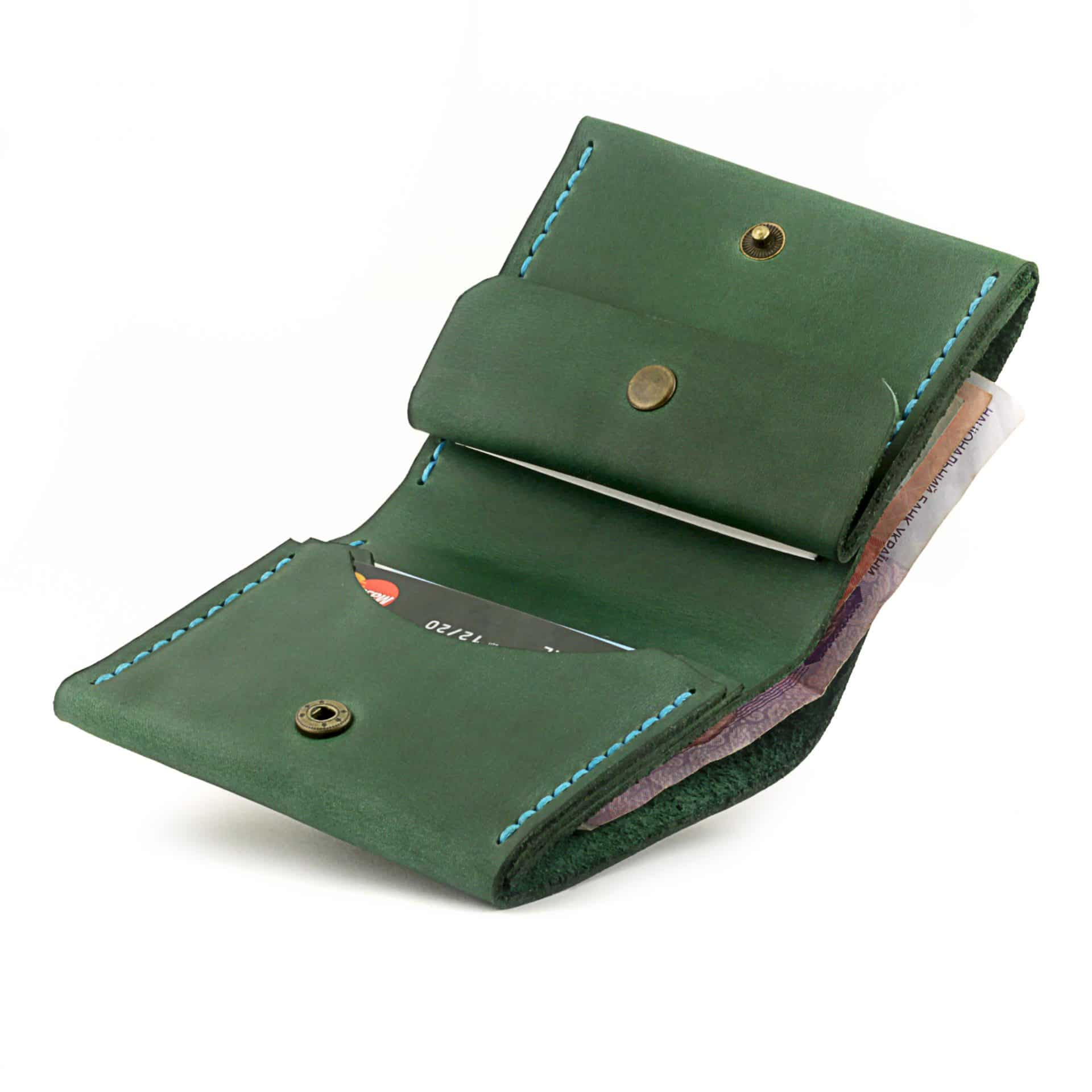 "Кошелёк Wallet ""Square"" - Absinthe (Зелёный)"