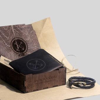 Подарочный набор для мужчины Triplet Brown