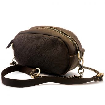 Кожаная женская сумка - трансформер